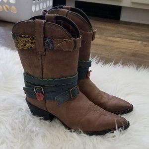 Durango Brown Cowboy Boots